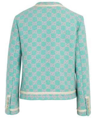 GG logo adorned tweed jacket GUCCI