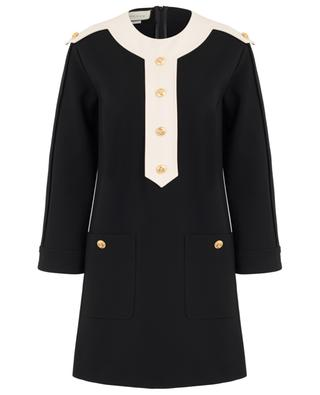 Short straight dress with buttons GUCCI