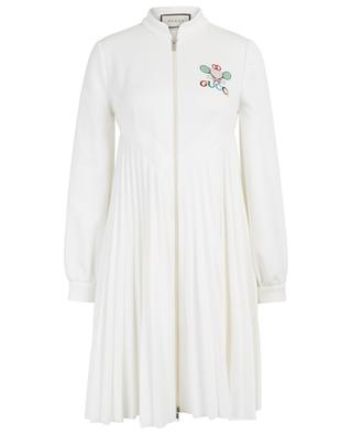Gucci Tennis embroidered jersey dress GUCCI