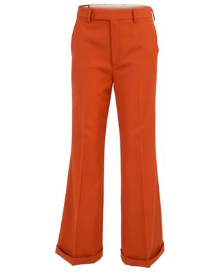 Wool wide leg trousers GUCCI