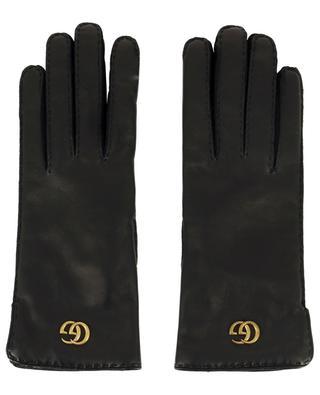 Gants en cuir avec logo Gucci GUCCI