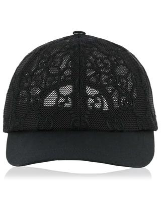 GG embroidered net baseball cap GUCCI