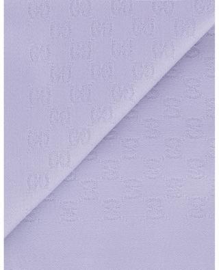GG Jacquard lightweight cashmere scarf GUCCI