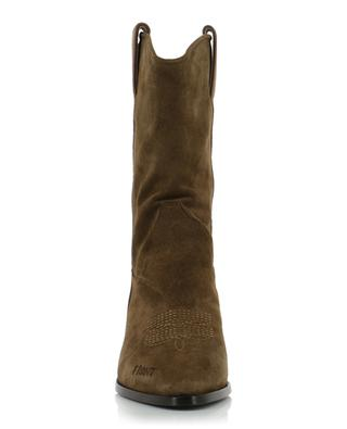 Bottines western en daim Fire ASH