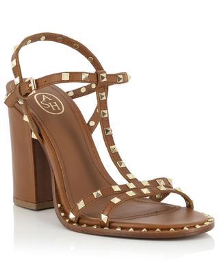 Sandales cloutées à talon carré Lips ASH