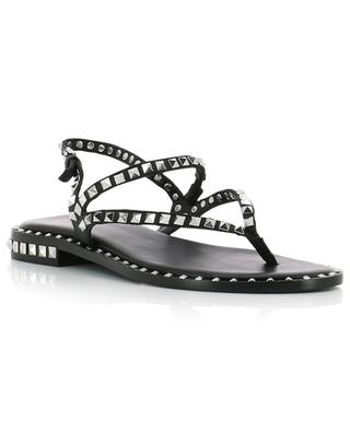 Peps studded leather sandals ASH