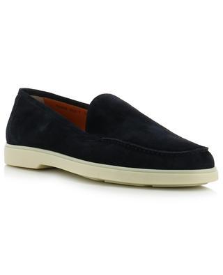 Suede loafers SANTONI