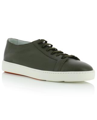 Grained leather sneakers SANTONI