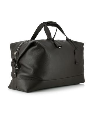 Reisetasche aus genarbtem Leder SANTONI