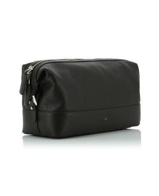 Grained leather pouch SANTONI