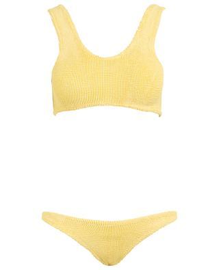 Cropped Bikini two-piece bathing suit HUNZA G