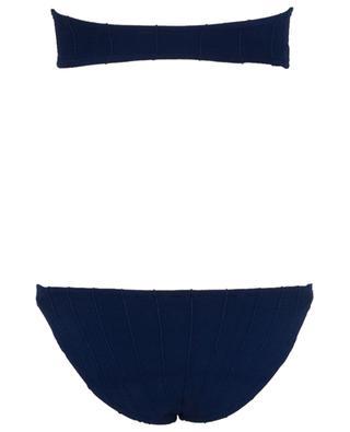 Jean Nile bandeau bikini HUNZA G