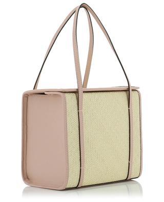 Handtasche aus Iraca und Leder Clo Box HUNTING SEASON