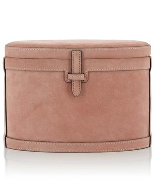 Round Trunk oval suede trunk bag HUNTING SEASON