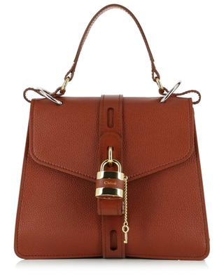 Sac double porté en cuir grainé Aby Medium CHLOE