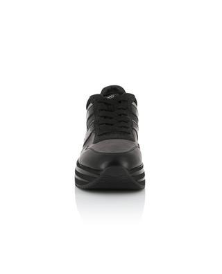 Baskets à plateau en cuir détail scintillant New H222 HOGAN