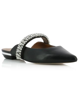Princely flat mules with crystal strap KURT GEIGER LONDON