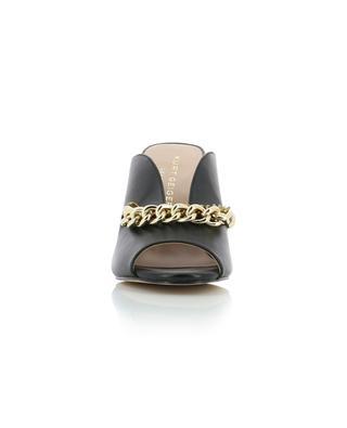 Broadwick Chain open toe heeled mules KURT GEIGER LONDON