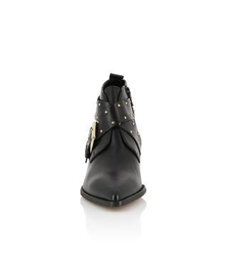 Stiefeletten aus Leder mit Schnalle und Nieten Denzell KURT GEIGER LONDON