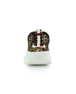 Baskets en cuir imprimé léopard Lunar KURT GEIGER LONDON
