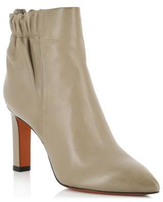 Stiefeletten aus Leder mit Absatz SANTONI