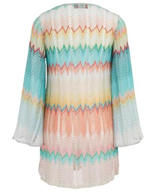 Chevron pattern crocheted knit tunic MISSONI MARE
