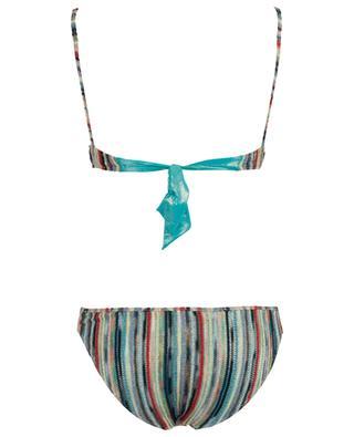 Glitzernder Strick-Bikini mit Zickzackmotiv MISSONI MARE