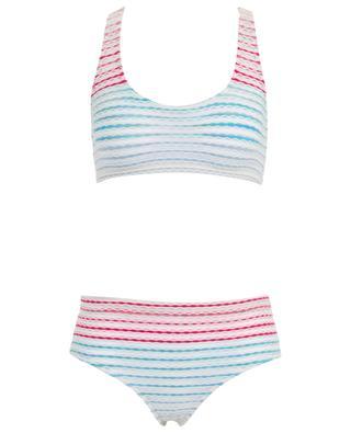 Bikini sport en maille lurex rayée MISSONI MARE