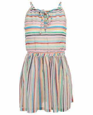 Striped knit mini beach dress MISSONI MARE