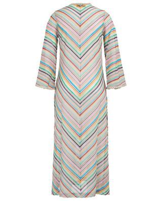 Long knit cardigan with chevron pattern MISSONI MARE
