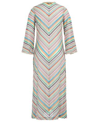 Long knit cardigan with chevron pattern MISSONI MARE