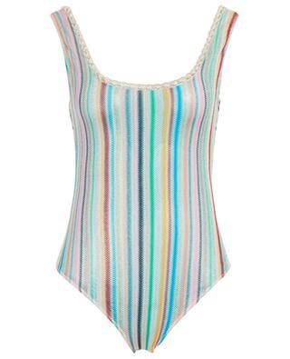 Striped net swimsuit MISSONI MARE