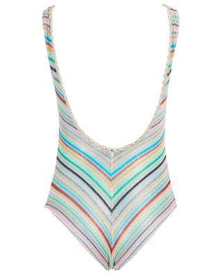 Striped net swimsuit MISSONI MARE