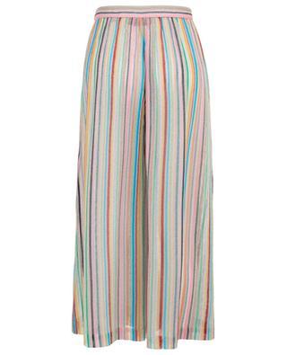 Striped wide-leg net trousers MISSONI MARE