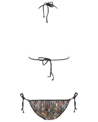 Bikini triangle à nouer motif vagues MISSONI MARE