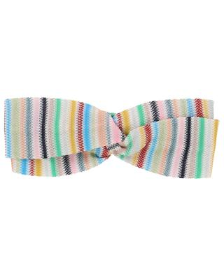 Knit and lurex striped double hairband MISSONI MARE