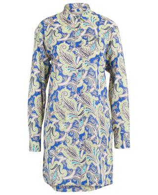 Robe chemise en coton imprimé Paisley ETRO