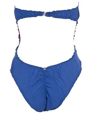 M11 strapless bow adorned swimsuit COMO UN PEZ EN EL AGUA