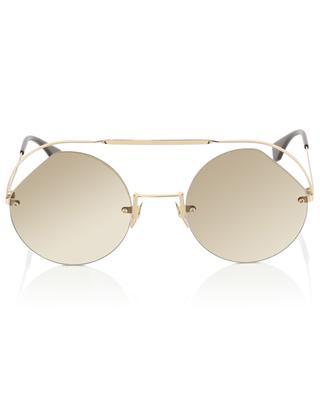 Runde Sonnenbrille Ribbons & Crystals FENDI