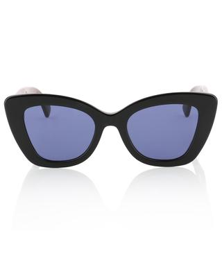 Havana FF cat-eye shaped sunglasses FENDI