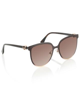 Rundliche Sonnenbrille FENDI