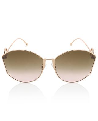 F is Fendi cat-eye shaped sunglasses FENDI