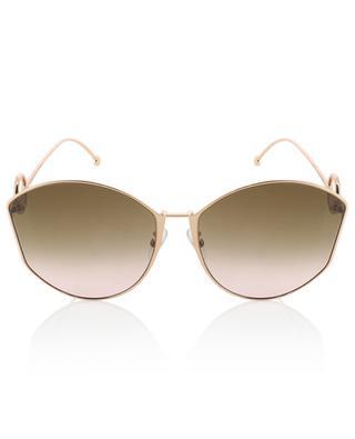 F is Fendi cat-eye shaped sunglasses FENDI