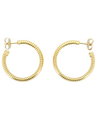 Milo PM golden metal hoop earrings GAS BIJOUX
