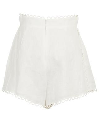 Allia linen shorts ZIMMERMANN