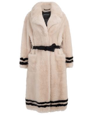 Faux fur coat ERMANNO SCERVINO