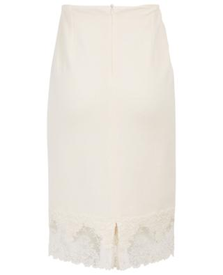 Wool, silk and cashmere pencil skirt ERMANNO SCERVINO