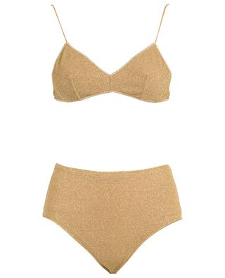 Bikini en lurex Lumière High-waisted Bra OSEREE