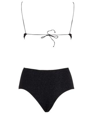 Lumière High-waisted Bra lurex bikini OSEREE
