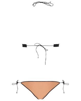 Bikini à nouer esprit lingerie Travaillé OSEREE